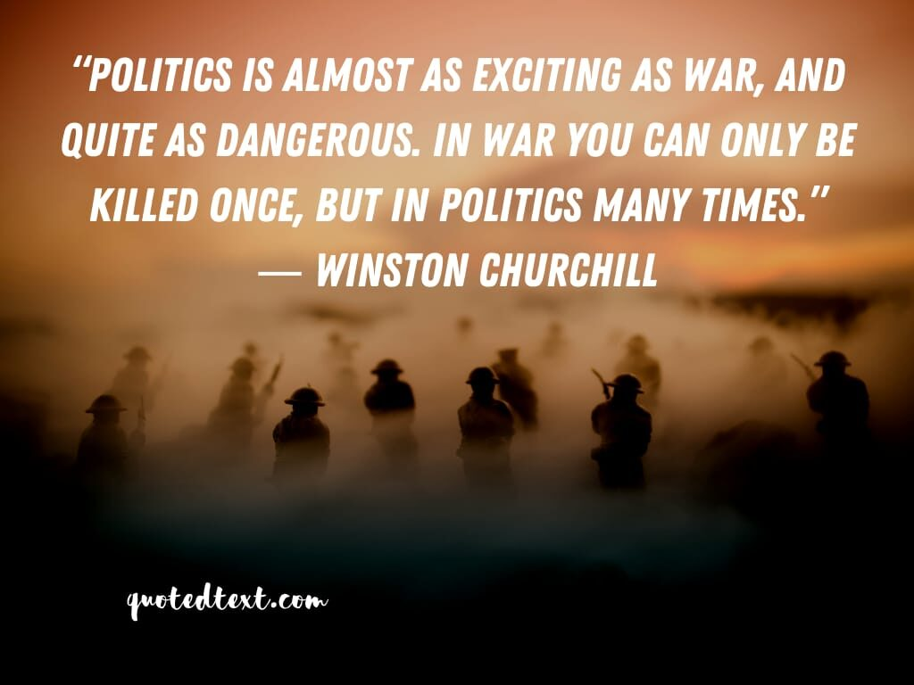 Winston Churchill quotes on politics