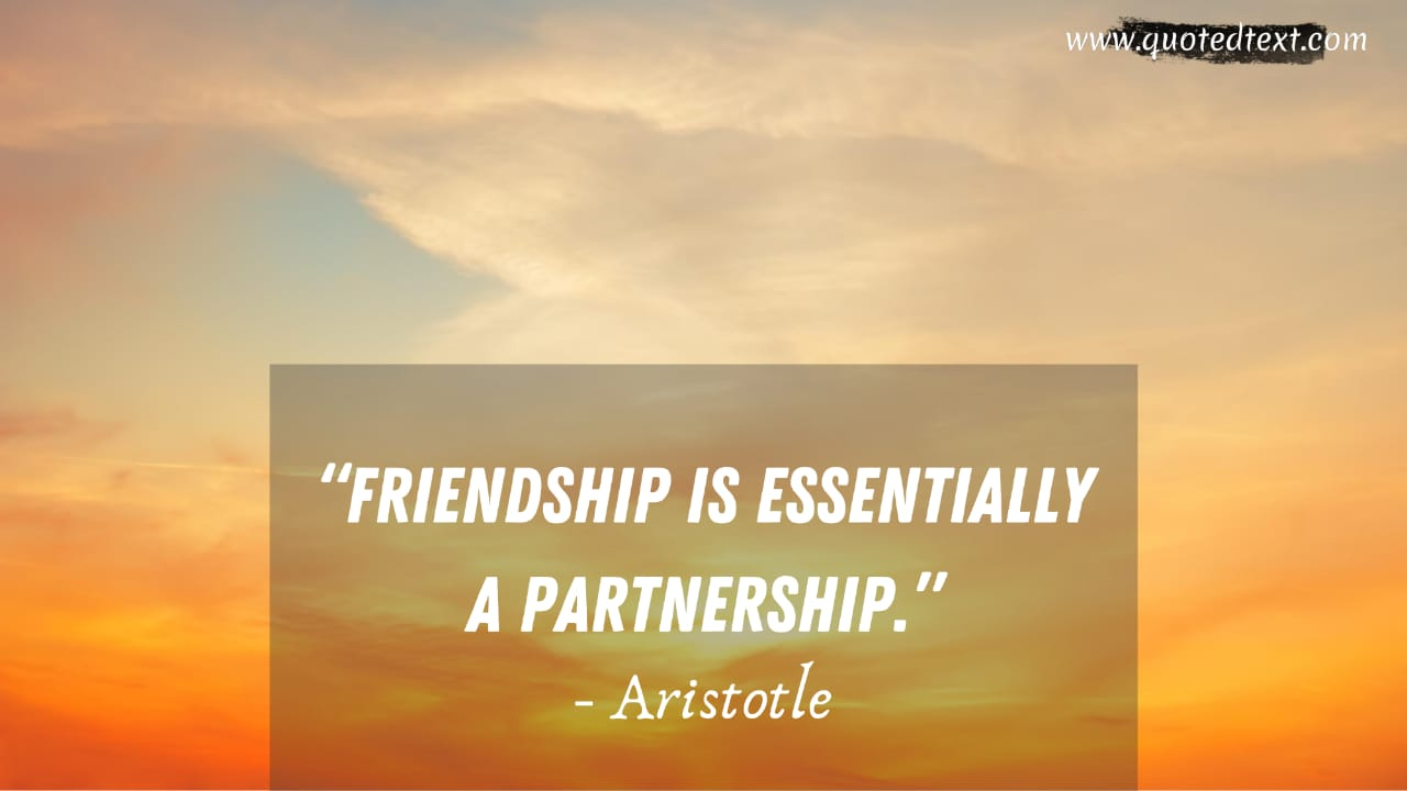 Aristotle quotes on friendship