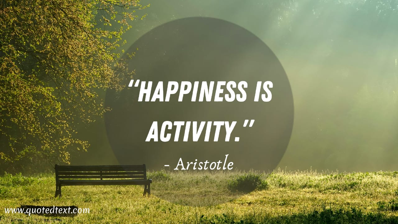 Aristotle quotes on happiness
