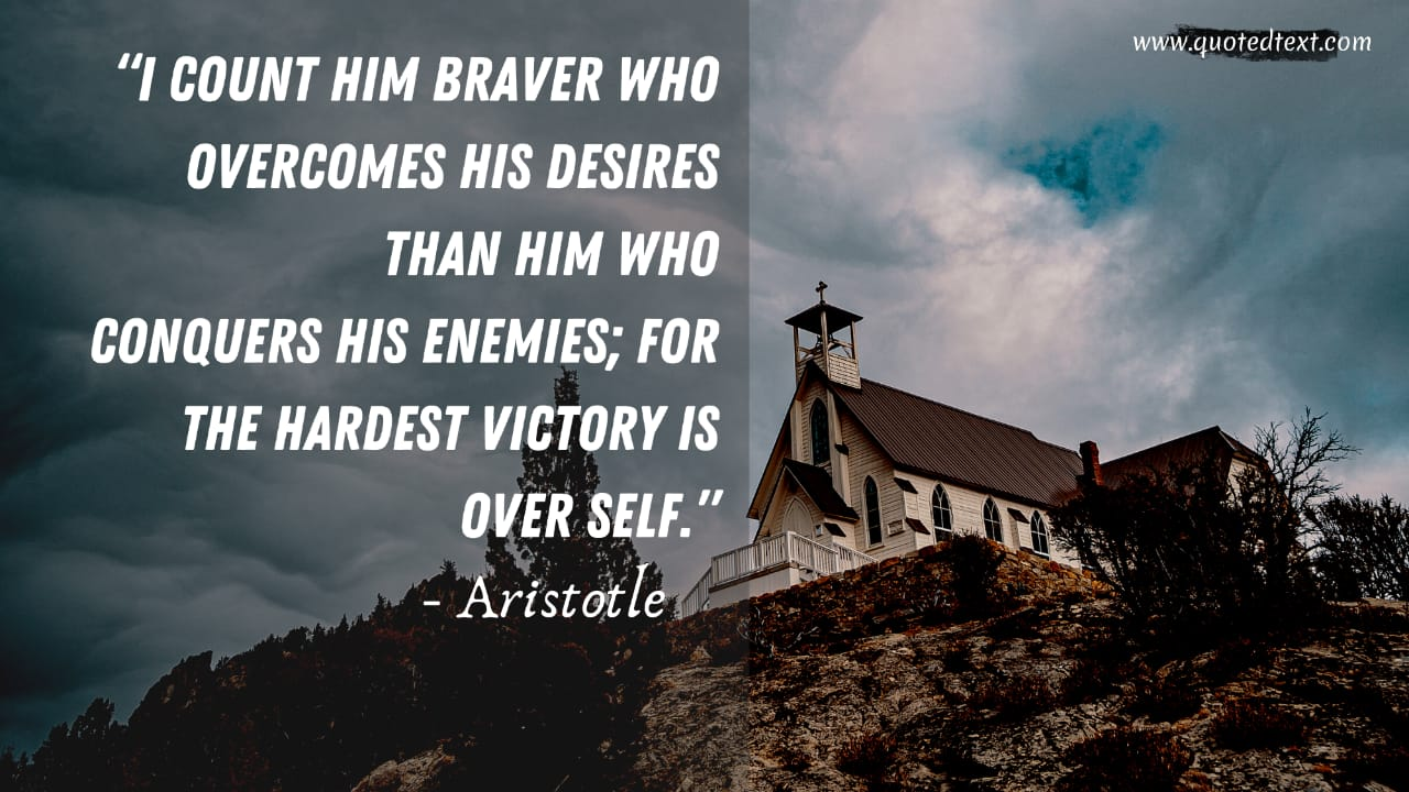 Aristotle quotes on victory