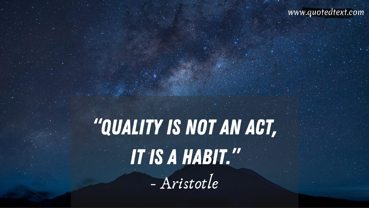 Aristotle quotes on habit