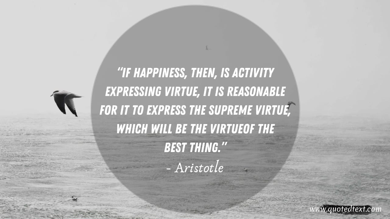 Aristotle quotes on virtue