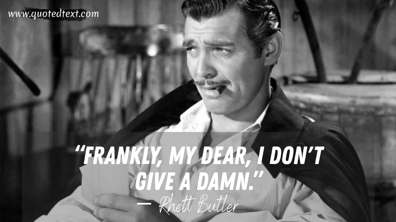 Gone with the wind quotes on attitude