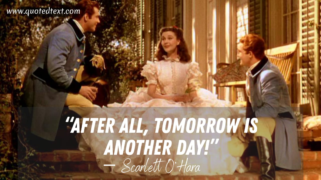 Gone with the wind quotes on hope