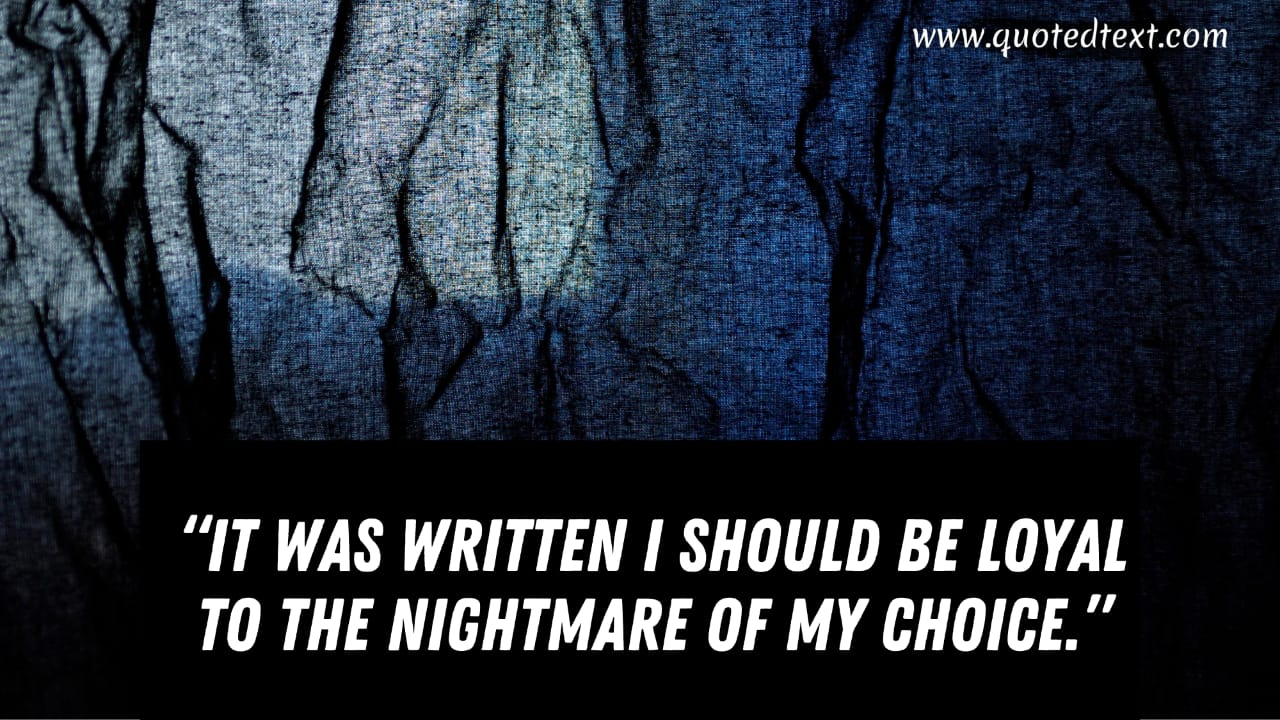 Heart of Darkness quotes on choices