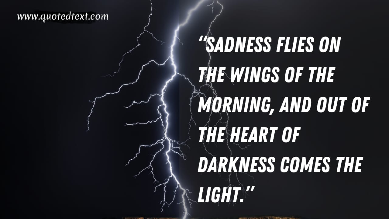 Heart of Darkness quotes on sadness