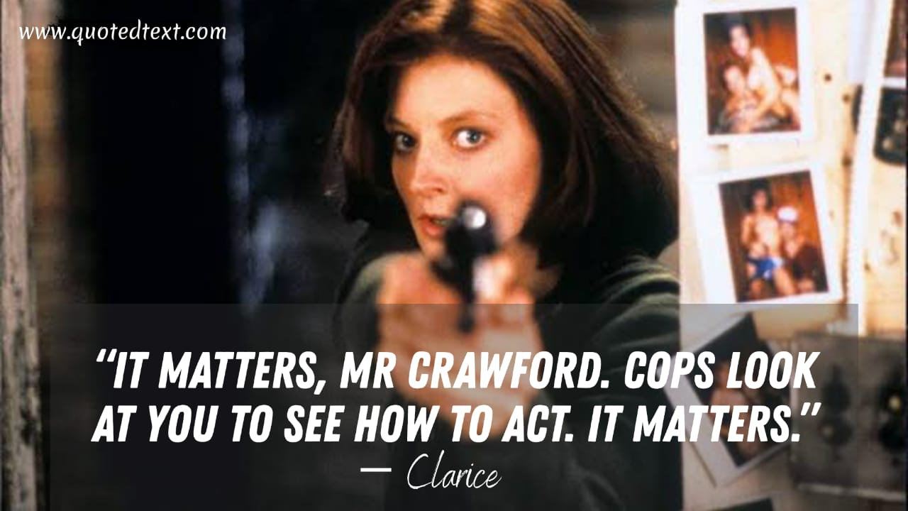 The Silence of the Lambs quotes by clarice