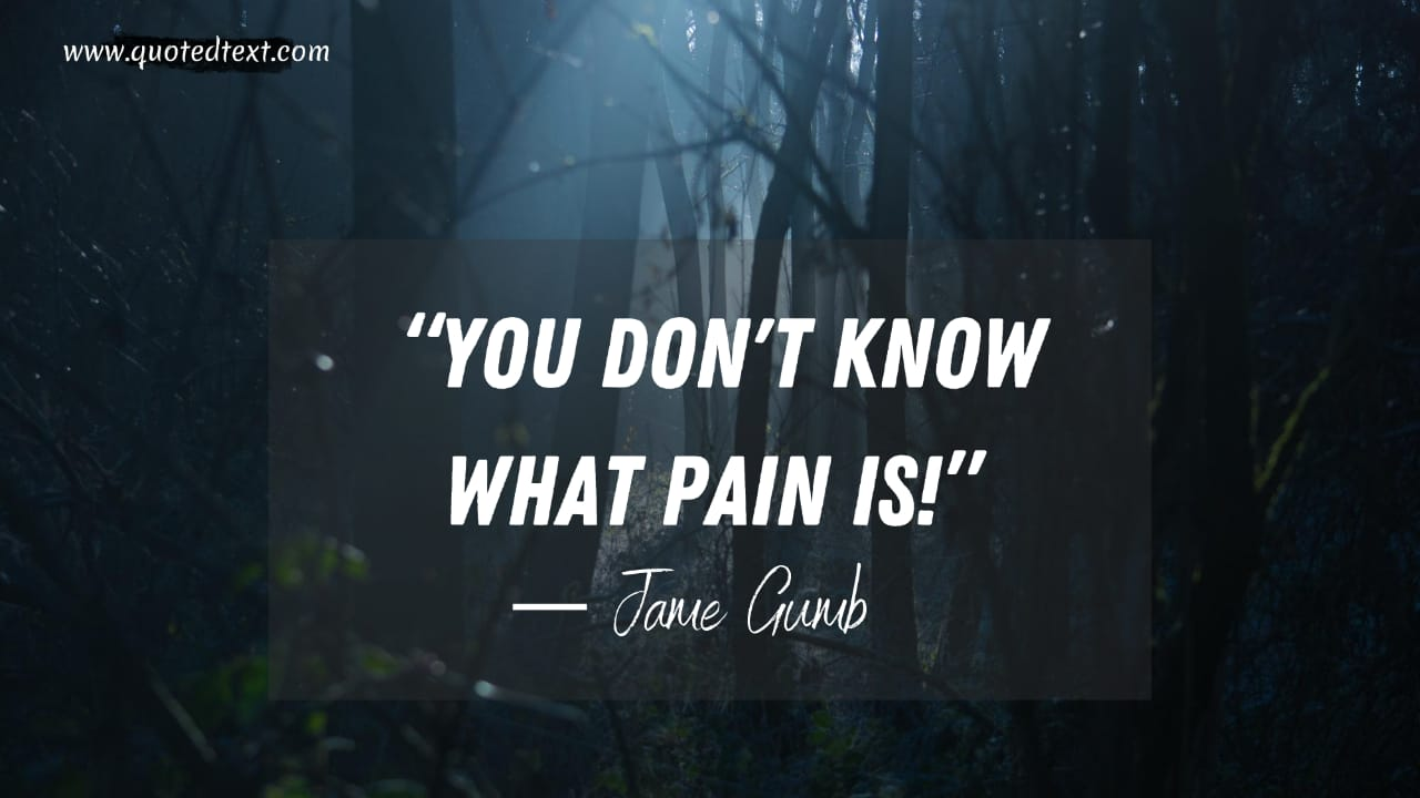 The Silence of the Lambs quotes on pain