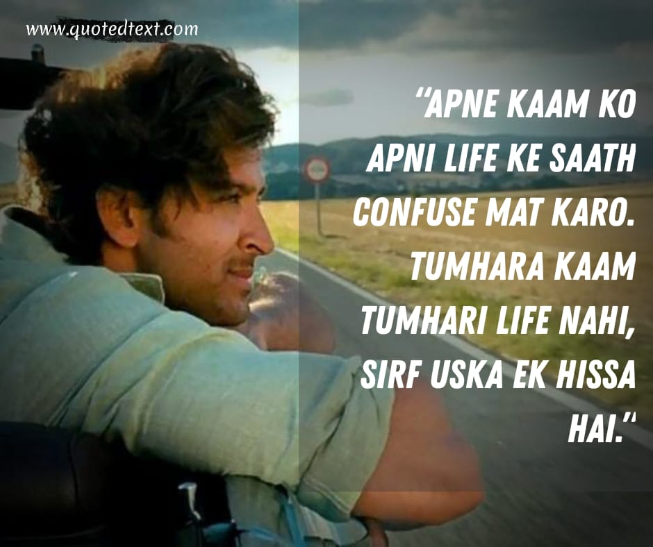 Zindagi na Milegi Dobara dialogues on living moments