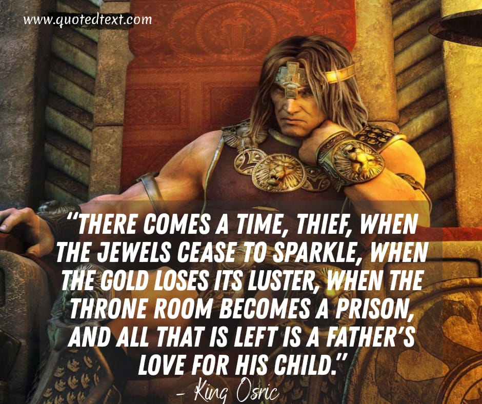 Conan the Barbarian quotes by king osric