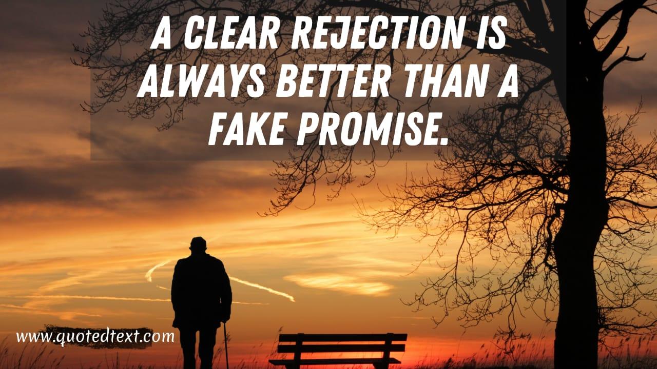 Fake Promises quotes