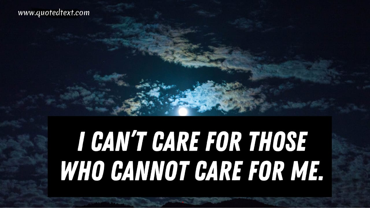 I don't care quotes new