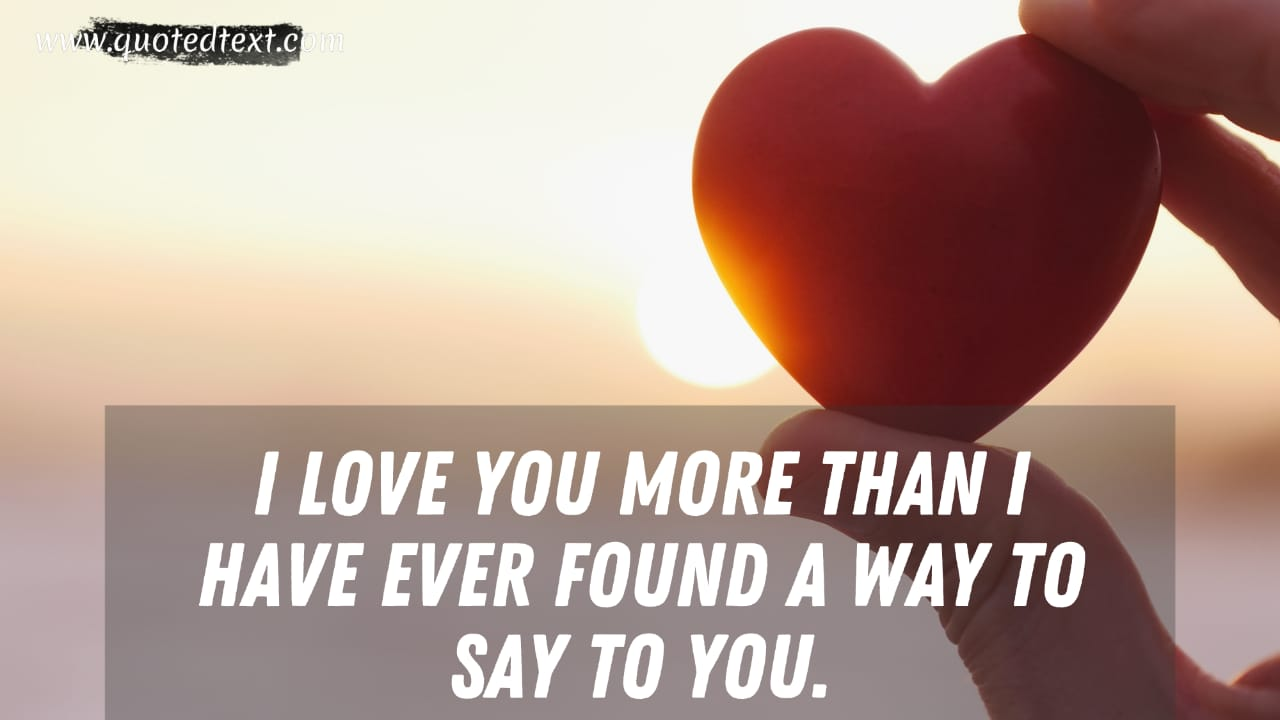 Love You Forever quotes for special one