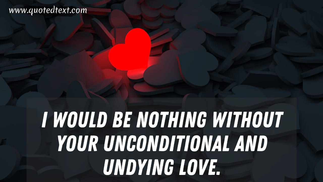 Love You Forever quotes on unconditional love