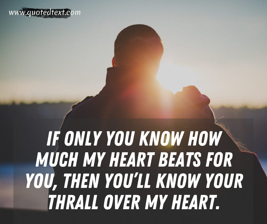 One Sided Love quotes for her