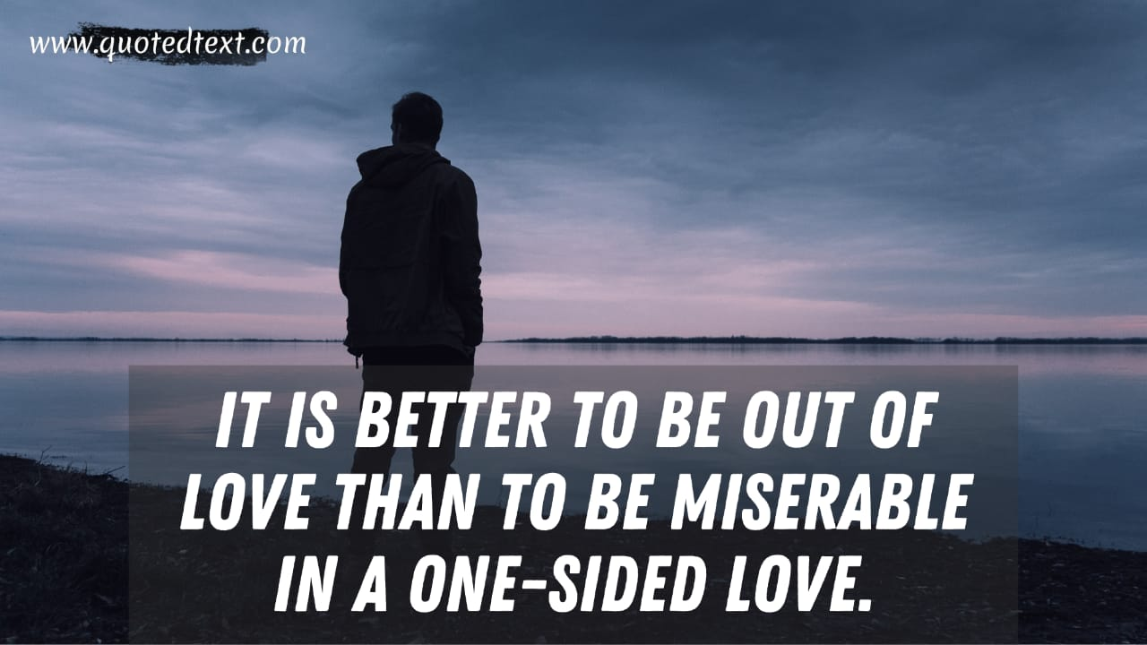 Best One Sided Love quotes