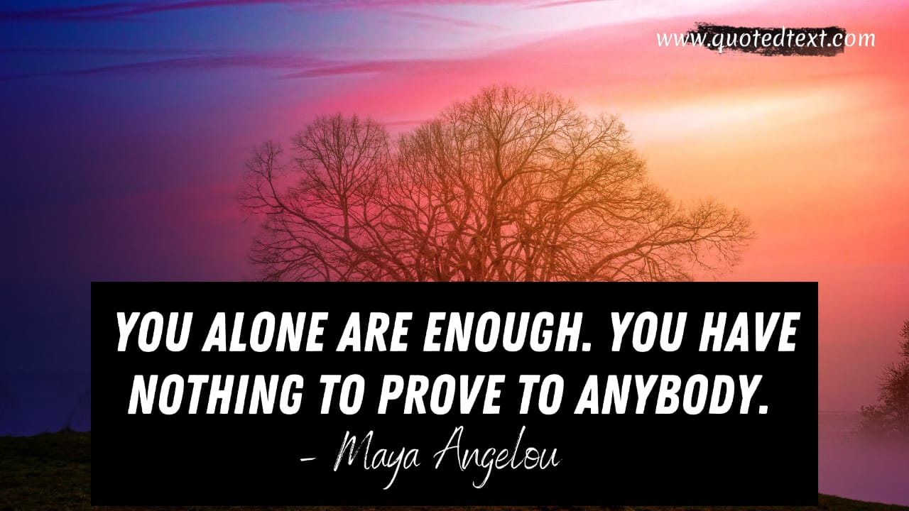 Inspirational You are enough quotes