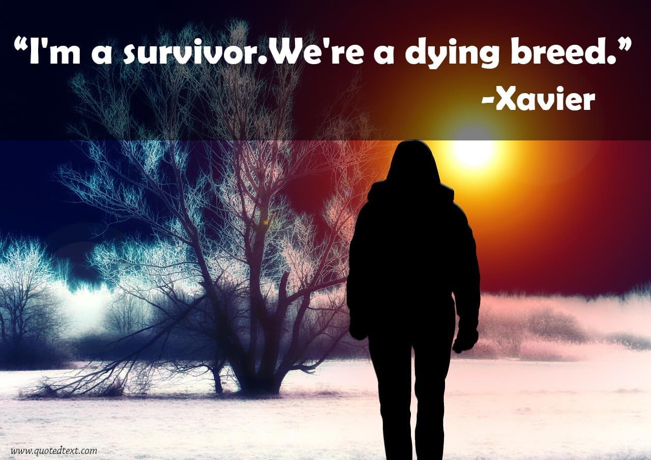 Xavier Renegade Angel Quotes