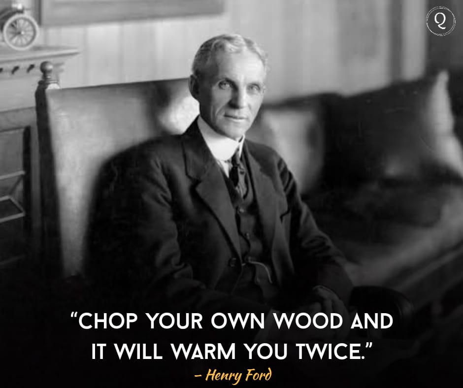 One Liner quotes by Henry Ford