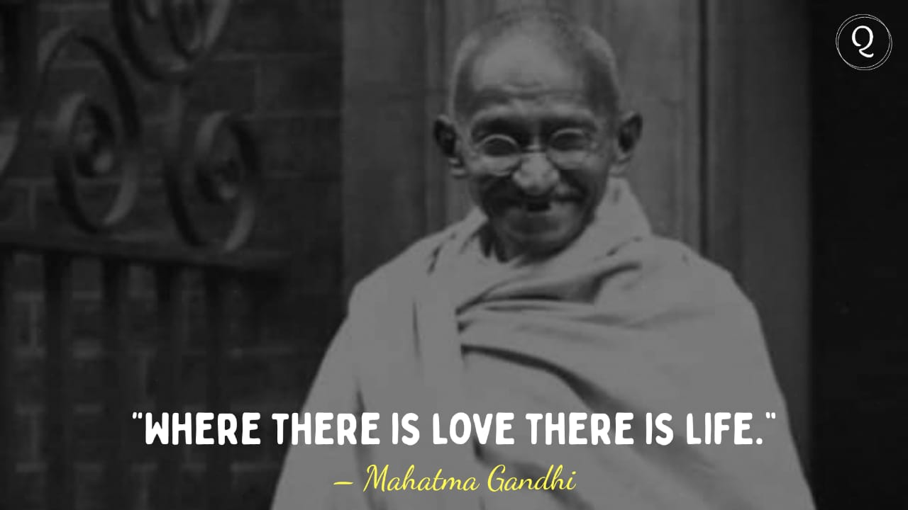 One Liner quotes by Mahatma Gandhi