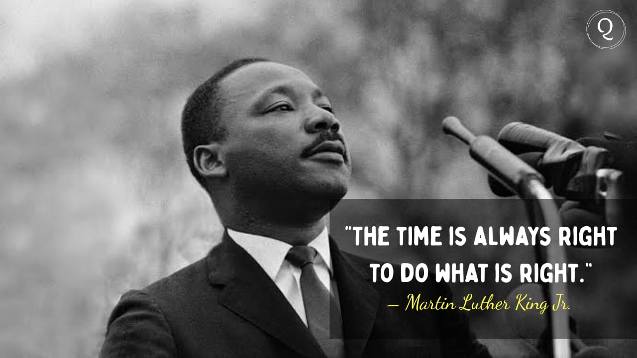One Liner quotes by Martin Luther King