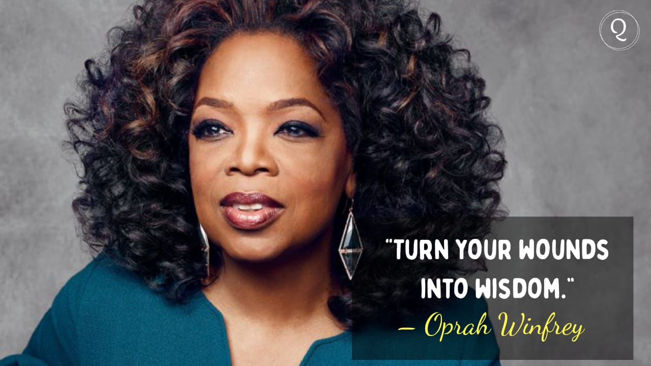 One Liner quotes by Oprah Winfrey
