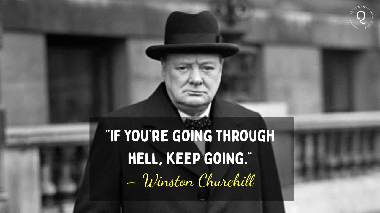One Liner quotes by Winston Churchill