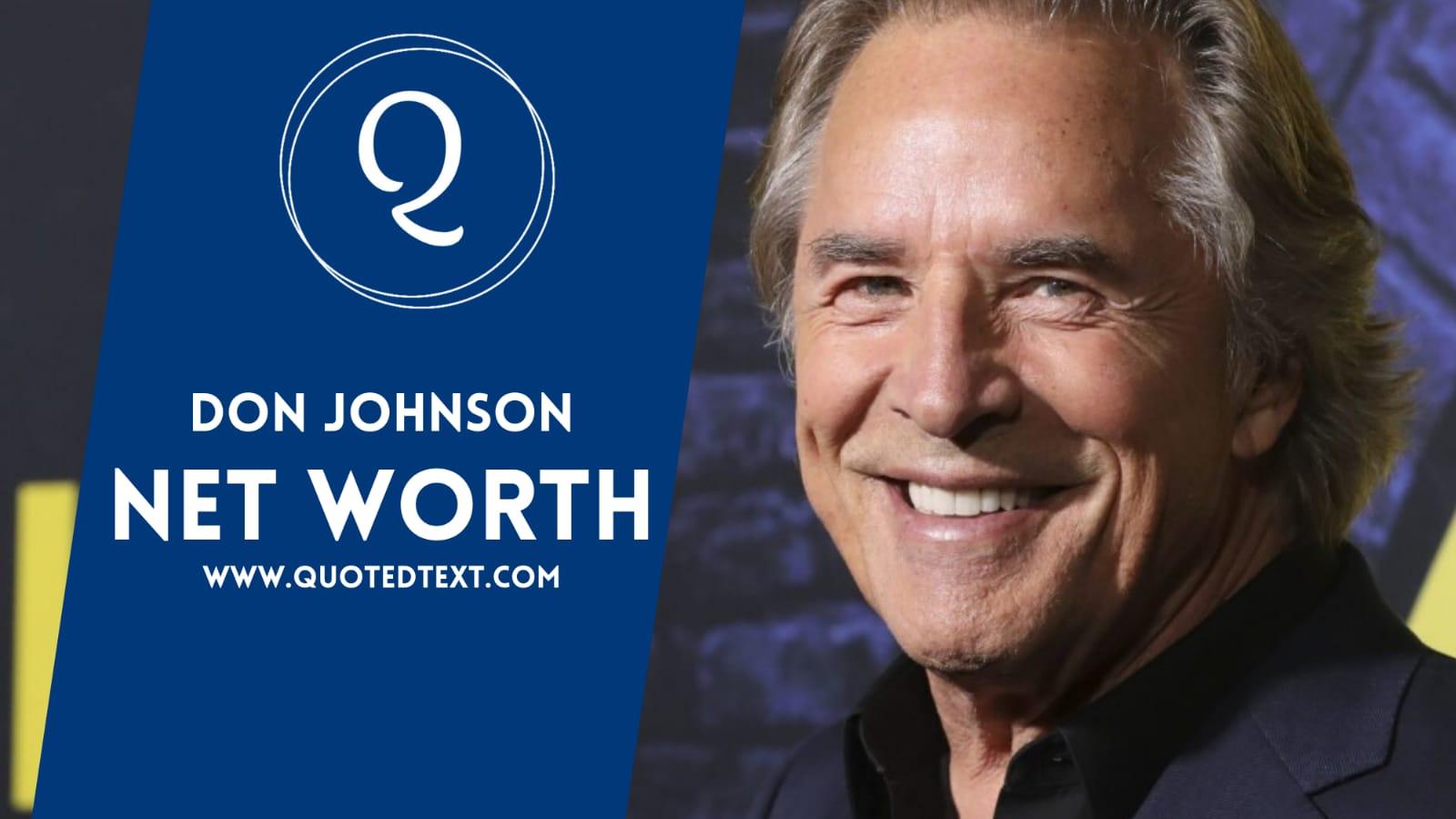 Don Johnson Net Worth